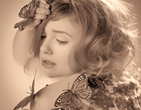 The Butterfly Shoot with Nicole Gallagher