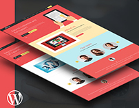 WORDPRESS Landing Page - Alfat