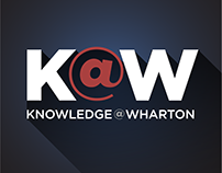 Knowledge@Wharton News iPhone App Screen Design