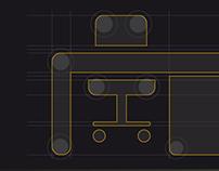 azteca86 icon design