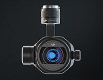 DJI Zenmuse X7 CGI