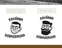 KAVÁRNA DOBRODRUHA - logo