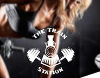 The Train Station Logo Design