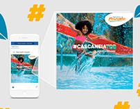 Campanha Publicitária - Parque Aquático Cascanéia | R9