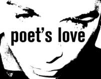 Poet's Love Concert Poster.