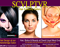 Directory Ad for Sculptur Hair & Beauty