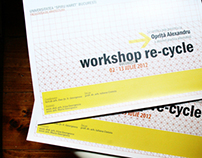 Architecture Workshop RE-CYCLE diploma design