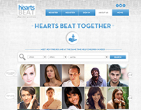 """Layout design for 'Hearts Beat"""""""