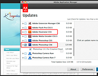 Adobe Photoshop and Illustrator CS6 Update Available