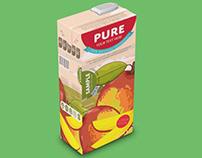 Juice Packaging Mockup PSD Free Download