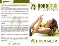 Bono Club Platino Díptico - Financia