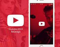Youtube iOS8 ReDesign