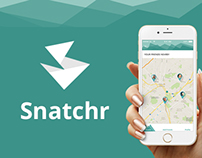 Snatchr iOS Mobile App Redesign