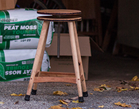 Woodworker's Clamping Stool
