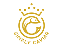 Simply Caviar Logo & Web Development
