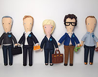 MOO Inc. Portrait Dolls: Board Members