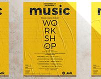 Music Workshop Poster Design