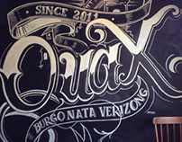 Painting - Lettering in ChalkBoard
