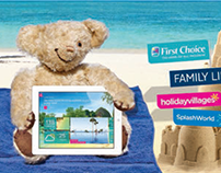 TUI Product Day Campaign featuring Miles the Bear.