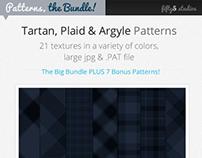 The Bundle : 28 Tartan, Plaid & Arglye Patterns