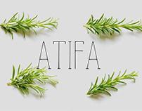 Atifa - Free Serif Font