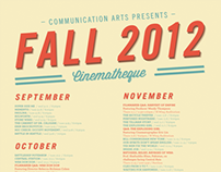 Cinematheque Fall 2012