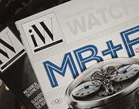 iW Magazine Editorial Design 2012