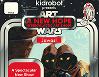 Art Wars: A New Hope flyer