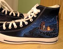 Mêlée Island shoes (2009)