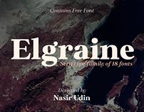 Elgraine Typeface