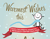 Children's Hospital Oakland Holiday Cards