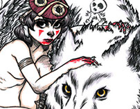 San from 'Princess Mononoke'