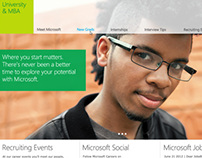 Microsoft University & Careers Site