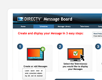 Direct TV Web Application