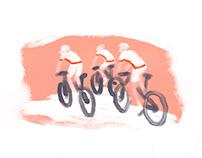 Ilustración para The After Riding Series   BH BIKES