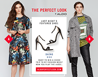 Aldo Group - Project Runway - Social Media Content