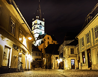 Sibiu by night