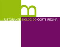 Ristorante Biologico Corte Regina, visual identity
