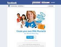 FrieslandCampina World Milk Day Facebook App