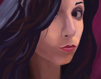 """Alexandra"" Digital Portrait Summer 2010 [Senior]"
