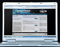 Impact Central Website Redesign