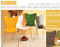 West Elm Website Design