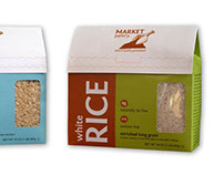 Packaging & Marketing Concept Market Pantry Rice