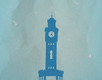 Simple City Posters