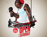 Virgin Active Red - Open Saturdays