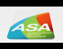ASA Asesoramiento Sanidad Alimentaria Branding
