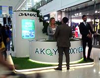Damac AK O2 YA Oxygen Stands Dubai