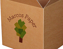 Logo Redesign: Marcos Paper