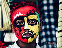 The Colorful boys of Bali - Ngerebek