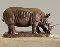 CGI Restoration Hardware Rhino 3d model